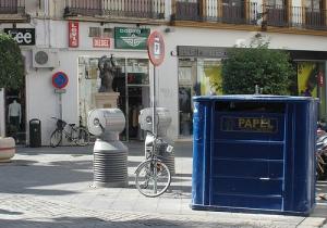 Rubbish in Sevilla