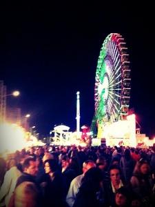 Sevilla feria calle infierno