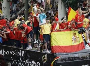 Celebrations outside Seville. Photo by Ghawi dxb